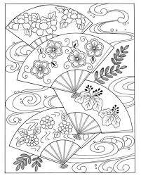 Japan Poems Culture Paperdolls And Vintage Clip Kleurplaten