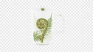Silver Fern Burknar Coffee Cup Koru Mug Silver Fern Color Burknar Png Pngegg