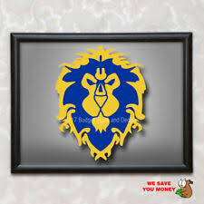 World Of Warcraft Horde Orc Logo Decal 11 X10 Lok Tar Ogar For The Horde Wow