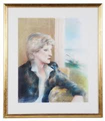 George Adrian   Portrait of Diana, Princess of Wales (2002)   MutualArt
