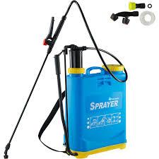 Garden Sprayer 16l Pressure Sprayer Weed Sprayer Sprayer Blue 402573