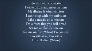 The Score - Stronger (Lyrics Video) - YouTube
