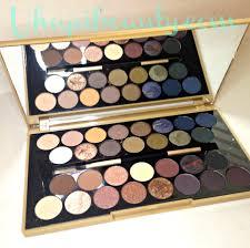 makeup revolution palette review