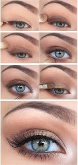 makeup looks for blue eyes and pale
