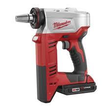 Milwaukee 18v Cordless M18 Expansion Tool Kit With 2 Batteries White Cap