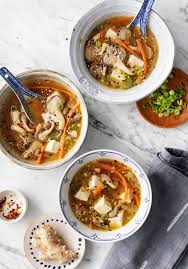 Oyster Mushroom Soup Recipe - Love and ...