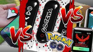 Pokemon Go Plus VS Go Gotcha VS Apple Watch! (Niantic, please don't delete  my account!) - YouTube