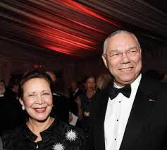 General Colin Powell & Alma Johnson Powell | Black on Black Marriages