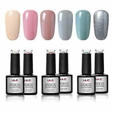 gel nail polish set 6 colors ulg