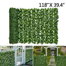 Faux Ivy Leaf Decorative Privacy Fence For Sale Online Ebay