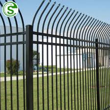 Powder Coated Tubular Fence Design Security Modern Metal Factory Fence Philippines View Metal Factory Fence Shengcheng Product Details From Guangzhou Shengcheng Sieve Co Ltd On Alibaba Com