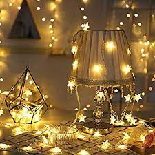 Star String Lights 9 8ft 20 Led Twinkle Little Star Light Indoor And Outdoor Decoration For Kids Room Bedroom Wall Warm White Walmart Com Walmart Com