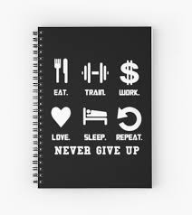 best entrepreneur quotes never give up spiral notebook by