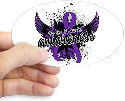 Amazon Com Cafepress Cystic Fibrosis Awareness 16 Oval Bumper Sticker Euro Oval Car Decal Home Kitchen