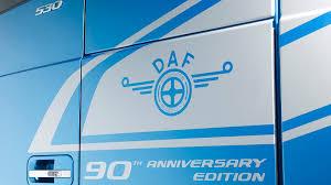 daf 90th anniversary edition gb daf