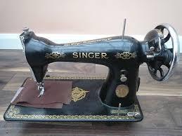 Antique Singer Sewing Machine Raf Decals 1934 Model 15 96 Rare 244611770
