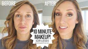 my 10 minute makeup routine how i do