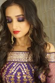 purple eye makeup shaadiwish
