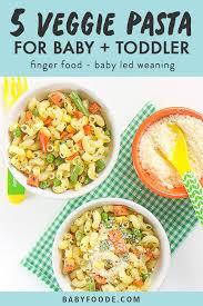 easy peasy 5 veggie pasta for baby