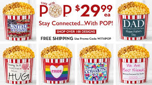 gourmet popcorn gift baskets