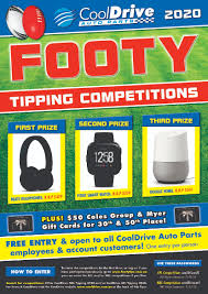 CoolDrive Auto Parts 2020 Footy Tipping ...