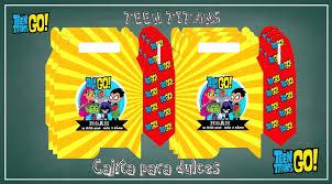 Invitacion Digital Jovenes Titanes Teen Titans Cumpleanos