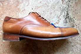 shining leather shoes