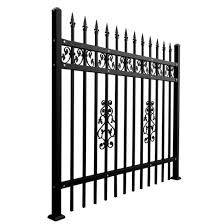 China Decorative Aluminum Sheet Metal Fence Metal Solid Panel For Garden China Fence Steel Fence
