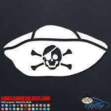 Pirate Hat Car Window Vinyl Decal Sticker Pirate Decals