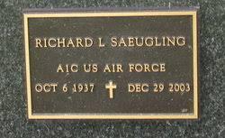 "Richard L ""Dick"" Saeugling (1937-2003) - Find A Grave Memorial"