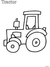 Kleurplaat Peuter Kleurplaat Tractor Kleurplaten Nl