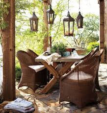 rustic outdoor decorating ideas native