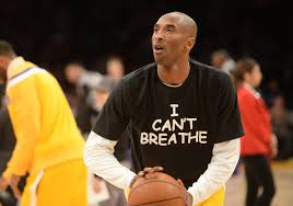 PHOTO: Kobe Bryant, Los Angeles Lakers wear 'I Can't Breathe ...