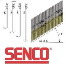 senco da 15 gauge angled finish nails