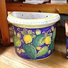 small flatback planter lemons