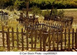 Graveyard Fence Wooden Fence Around A Graveyard At The Restored Rancho De Las Golondrinos Outside Sante Fe New Mexico