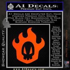 Bleach Rukia Skull Icon Decal Sticker A1 Decals