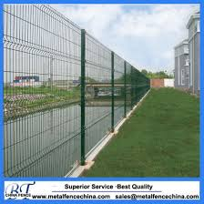 China Green Color Powder Coated Pvc Coated Metal Fence Panels China Wire Mesh Fence Welded Wire Mesh Fence