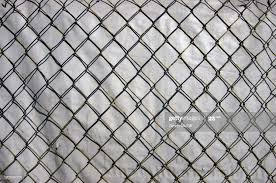 Chainlink Fence Backed With White Plastic Hessian Tarpaulin Screen At A Construction Site High Res Stock Photo Getty Images