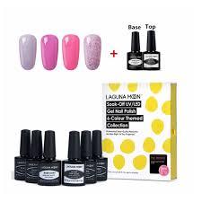 namoon gel nail polish set base