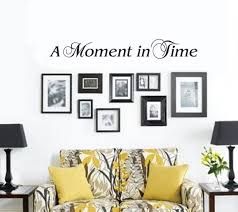 A Moment In Time Wall Decal Etsy