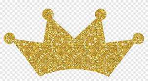 Decal Gold Sticker Crown Princess Crown Gold Glitter Gold Sticker Png Pngegg