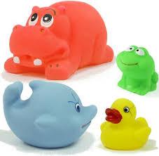 Malutkie gumowe piszczące zabawki - Nakina