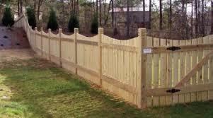 Semi Private Fencing In North Atlanta Mauldin Cook Fence