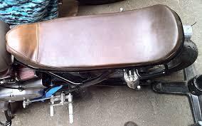 yamaha xs650 cafe racer custom seat