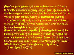 quotes about world youth day top world youth day quotes from