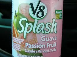 v8 splash juice drinks nutrition facts