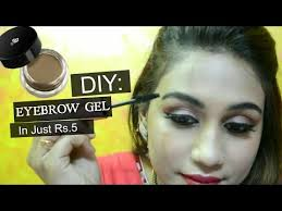 diy eyebrow gel in just rs 5 how to