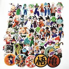 Dragon Ball Son Goku Vegeta Anime Car Window Decal Sticker E018