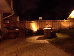 Backyard Fence Lights Outdoor Furniture Design And Ideas